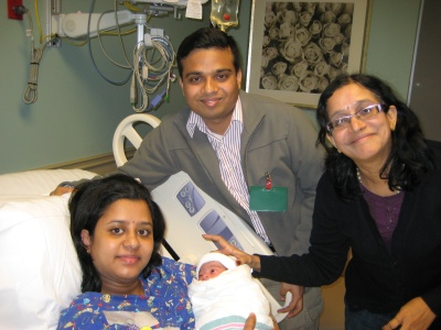 Nandini - With Parents