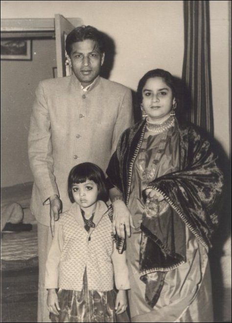 Shahrukh's Parents & Sister